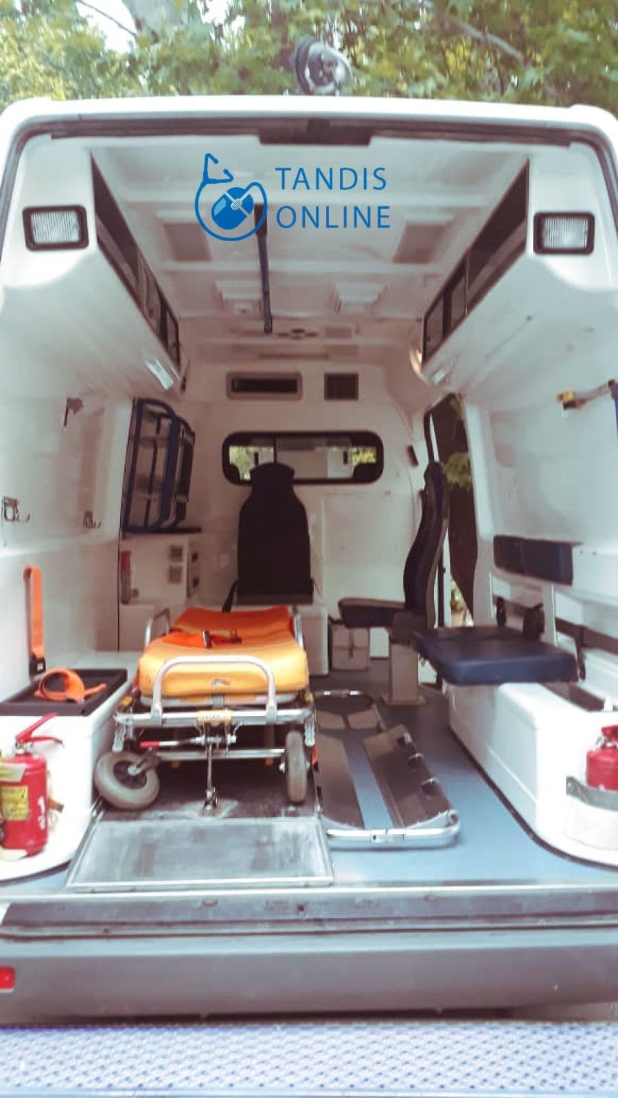 اعزام آمبولانس تیپ A